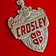 1951 Crosley Hood Emblem Poster
