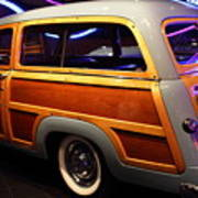 1951 Ford Country Squire - 7d17485 Poster by Wingsdomain Art and Photography