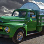 1951 Ford Truck Poster