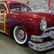 1951 Ford Woody Wagon Poster