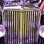 1951 Jaguar Mark V D H C Poster