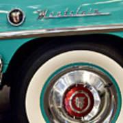 1951 Mercury Montclair Convertible Wheel Emblem Poster
