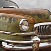 1951 Nash Ambassador Hydramatic Front End Poster