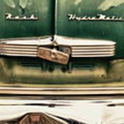 1951 Nash Ambassador Hydramatic Poster