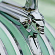 1951 Pontiac Streamliner Hood Ornament 3 Poster