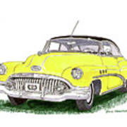 1952 Buick Special Poster