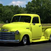 1952 Chevrolet Pickup Truck Poster