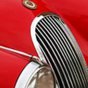 1952 Jaguar Xk 120 Grille Emblem Poster