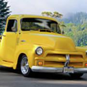 1953 Chevrolet Stepside Pickup I Poster