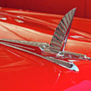 1954 Ford Cresline Sunliner Hood Ornament 2 Poster
