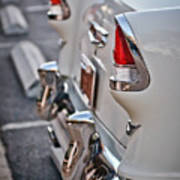 1955 Chevrolet Belair Tail Lights Poster