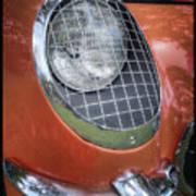1955 Corvette Headlight Detail Poster