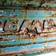 1955 Gmc Truck Tailgate Poster