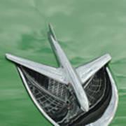 1956 Buick Riviera Hood Ornament Poster