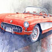 1956 Chevrolet Corvette C1 Poster
