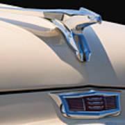 1956 Chrysler Soaring Falcon Hood Ornament Poster