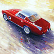 1956 Ferrari 410 Superamerica Scaglietti Series Poster