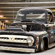 1956 Ford F100 'workingmans' Pickup I Poster