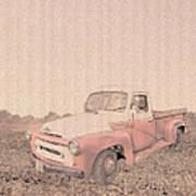 1956 Ford S120 International Truck Poster