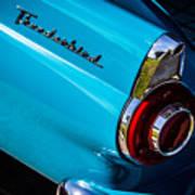 1956 Ford Thunderbird 2 Poster