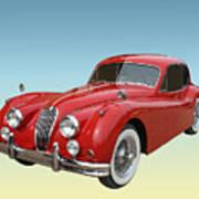 1956 Jaguar Xk 140 Mc Poster