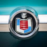 1956 Mercury Monterey Emblem Poster