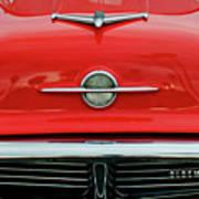 1956 Oldsmobile Hood Ornament 4 Poster by Jill Reger