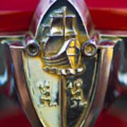 1956 Plymouth Belvedere Emblem 2 Poster