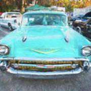 1957 Chevrolet Bel Air 283  Poster
