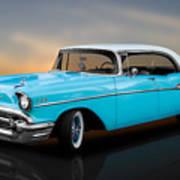 1957 Chevrolet Bel Air 4 Door Hardtop Poster