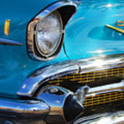 1957 Chevrolet Belair Grille Poster