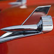 1957 Chevrolet Hood Ornament Poster