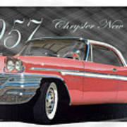 1957 Chrysler New Yorker Poster