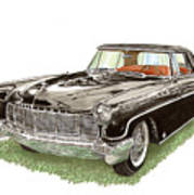 1957 Lincoln Continental Mk II Poster