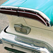 1958 Edsel Pacer Tail Light Poster