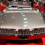 1959 Cadillac Eldorado Convertible . Rear View Poster by Wingsdomain Art and Photography