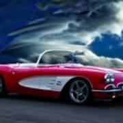 1959 Chevrolet Corvette Convertible II Poster