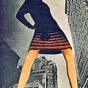 1960 70 Fashion Shot Of Female Model In Usa Poster