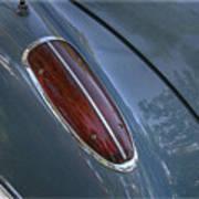 1960 Chevy Corvette Taillight Poster