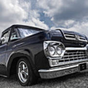 1960 Ford F100 Truck Poster