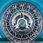 1960 Ford Thunderbird Spare Tire Poster