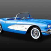 1961 C1 Chevrolet Corvette -  61chvetcv900 Poster