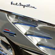 1961 Chevrolet Corvette Abstract Poster