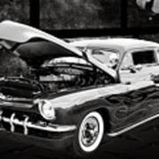 1951 Mercury Classic Car Photograph 004.01 Poster