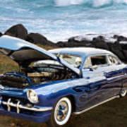 1951 Mercury Classic Car Photograph 005.02 Poster