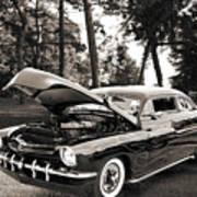 1951 Mercury Classic Car Photograph 006.01 Poster