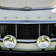 1961 Volvo Pv544 Grille Emblem -1511c Poster