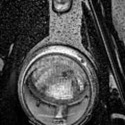 1962 Vw Beetle In The Rain Poster