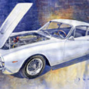 1963-1964 Ferrari 250 Gt Lusso  Poster