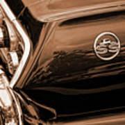 1963 Chevy Impala Ss Sepia Poster